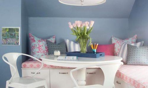 Trang trí nội thất cho các tín đồ yêu xanh dương