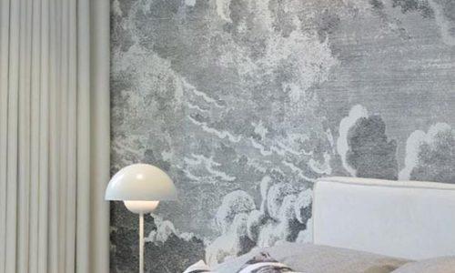Trang trí phòng ngủ với hiệu ứng đám mây