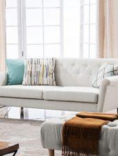 Bộ 3 món sofa Nỉ, Sofa văng GHS-8107