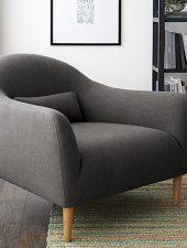 Ghế sofa đơn bọc Nỉ GHS-8114