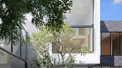 Thiết kế biệt thự hiện đại với không gian tươi mát