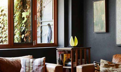 Thiết kế căn hộ đen cực kỳ quyến rũ và ấn tượng
