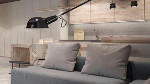 Thiết kế căn hộ đẹp nhẹ nhàng nhờ màu sắc của gỗ