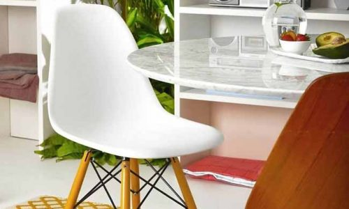 Thiết kế phòng nổi bật 'hộp bê tông' trong căn hộ trắng