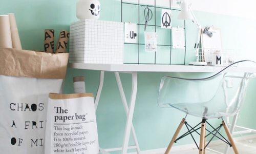 Thiết kế và trang trí nhà mình với màu bạc hà