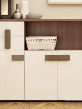 Tủ giày gỗ công nghiệp style mới GHS-5135