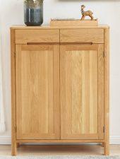 Tủ giày gỗ tự nhiên mộc mạc GHS-5137