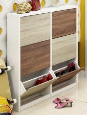 Tủ để giày rẻ quạt phong cách hiện đại GHS-5128
