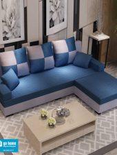 Sofa nỉ hiện đại, sofa góc L-GHS-8122