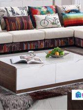 Bàn trà sofa phòng khách đẹp gỗ tự nhiên GHS-4292
