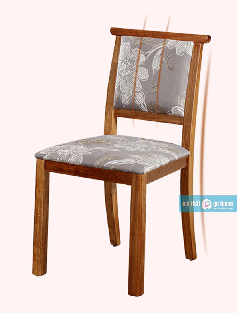 Bộ bàn ăn phong cách Châu Âu GHS-4211 (gỗ sồi 4 ghế)