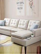 Bộ sofa da phong cách hiện đại GHS-894