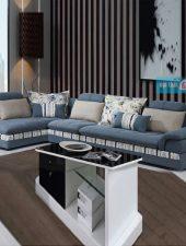 Bộ sofa lớn, bộ sofa nỉ chữ L GHS-8117