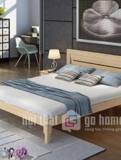 Giường ngủ gỗ thông, hiện đại GHS-931