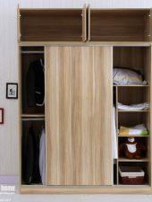 Tủ quần áo gỗ công nghiệp cánh trượt GHS-5158