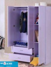 Mẫu tủ quần áo đẹp gỗ công nghiệp hiện đại GHS-5160