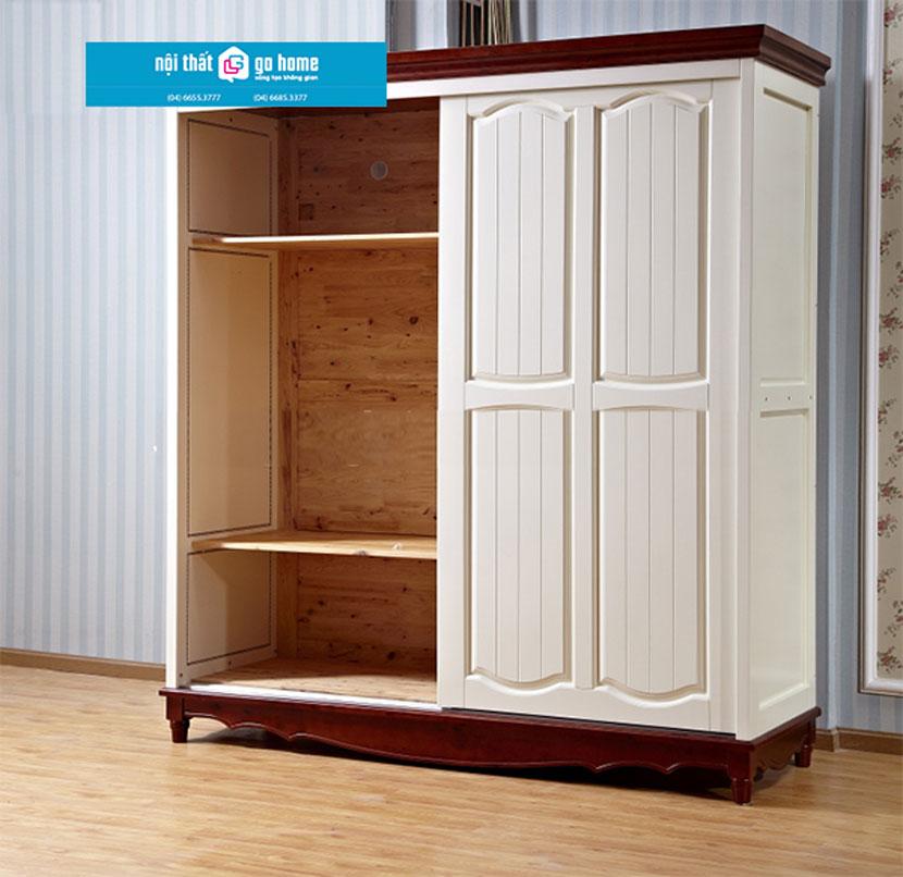 Tủ quần áo gỗ tự nhiên ghs-5167 (10)