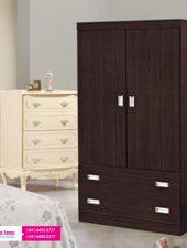 Tủ quần áo gỗ công nghiệp phủ melamine hiện đại GHS-5173