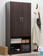 Tủ quần áo nhỏ gọn kết hợp tủ giày GHS-5177