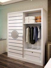 Mẫu tủ gỗ quần áo hiện đại giá rẻ GHS-5183