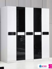 Tủ quần áo gỗ công nghiệp phun sơn cánh mở GHS-5190