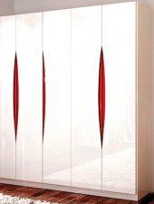 Tủ quần áo đẹp gỗ công nghiệp phun sơn GHS-5213