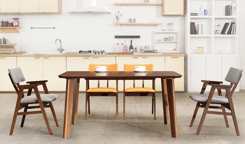 Bàn ghế ăn đẹp phong cách Bắc Âu GHS-4360
