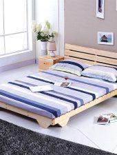Giường ngủ gỗ tự nhiên phong cách hiện đại GHS-981
