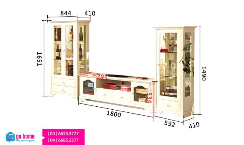 Ke-tivi-bang-go-phong-cach-Chau-Au-GHS-3108 (7)