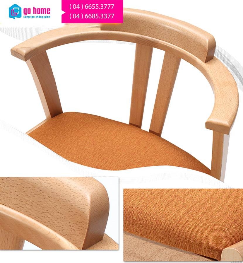 Bàn ăn hiện đại bằng gỗ sồi tự nhiên GHS-4359