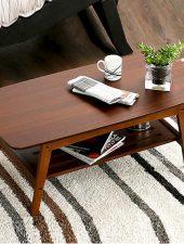 Bàn trà phòng khách gỗ tự nhiên GHS-4370