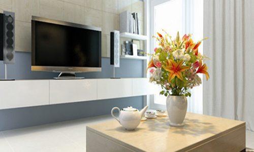 Nhà đẹp hơn với kệ để tivi hiện đại