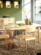 Mẫu bàn ăn bằng gỗ tự nhiên GHS-4362