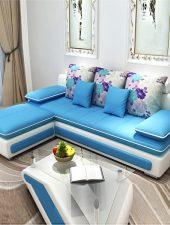 Sofa Hà Nội bọc nỉ cao cấp GHS-8221