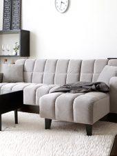 Sofa hiện đại góc L bọc nỉ GHS-8141