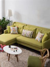Sofa hiện đại bọc nỉ cao cấp GHS-8181