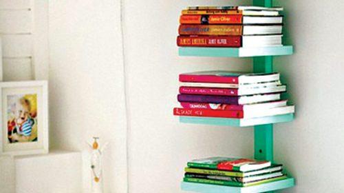 Những ý tưởng bài trí kệ sách nhỏ cho sinh viên