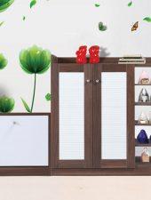 Tủ đựng giầy dép giá rẻ bằng gỗ GHS-5338