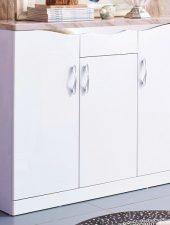 Tủ để giày bằng gỗ mặt đá cẩm thạch GHS-5382