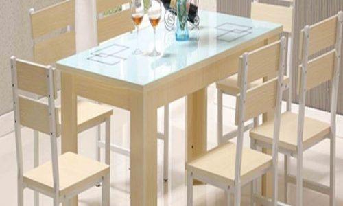 Các mẫu bàn ghế ăn đẹp giá rẻ cho phòng bếp