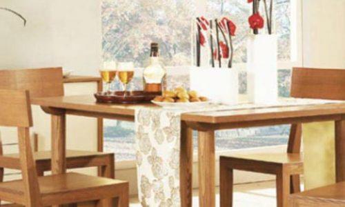 Xu hướng lựa chọn mẫu bàn ăn gỗ công nghiệp giá rẻ