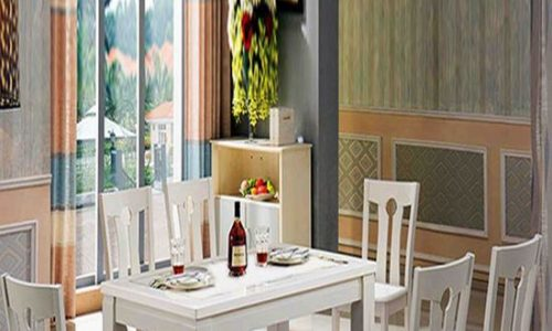 Mẫu bàn ghế phòng ăn sang trọng và trang nhã cho nhà bếp