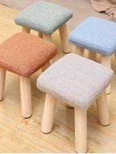 Ghế đôn gỗ tiện dụng đa màu sắc Pastel GHS-725