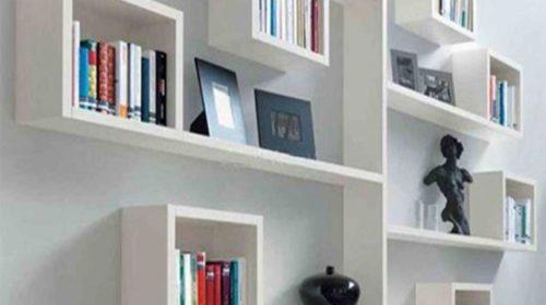 Giá sách treo tường đẹp cho không gian nhỏ hẹp