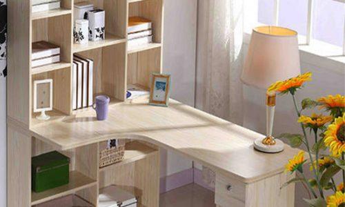 Mẫu giá sách gỗ đẹp, an toàn cho phòng ngủ bé