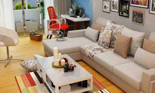 Mẫu bàn trà gỗ tự nhiên và công nghiệp đẹp cho phòng khách