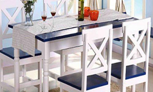 Bộ bàn ăn gỗ đẹp và tiện dụng cho căn bếp 2