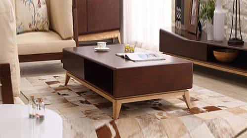 Bí quyết chọn bàn trà gỗ thanh lịch cho phòng khách