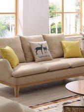 Ghế sofa phòng khách chất lượng khung gỗ tự nhiên GHS-8244