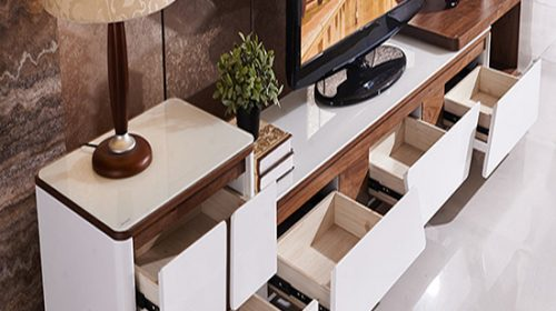 Gợi ý lựa chọn tủ tivi phòng khách đẹp giá rẻ tại Hà Nội